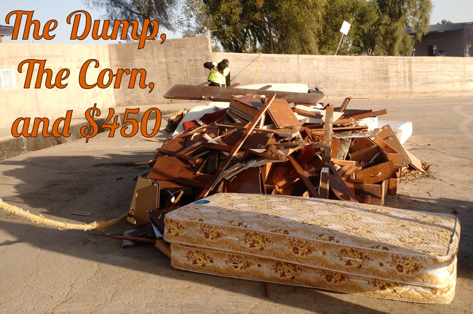 Bus Renovation - Part Four - The Dump, the Corn, and $450