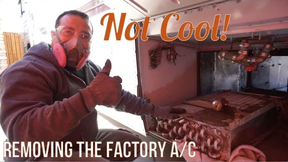 Not Cool!  Removing the Factory A/C