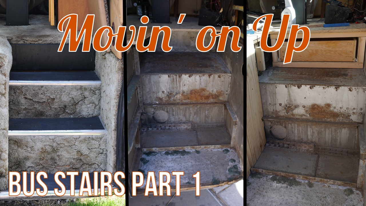 Movin' on Up - Building the Stairs Part 1