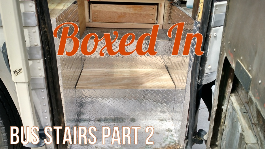Boxed In - Building the Stairs Part 2