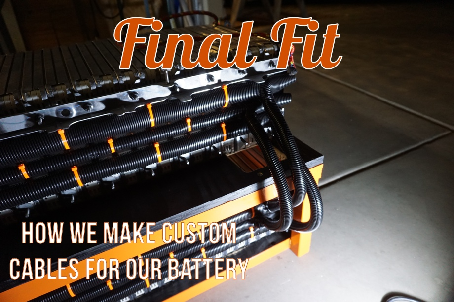 A Hacker's Take on RV House Batteries: Part 5 - How we Make Cables and Final Wiring