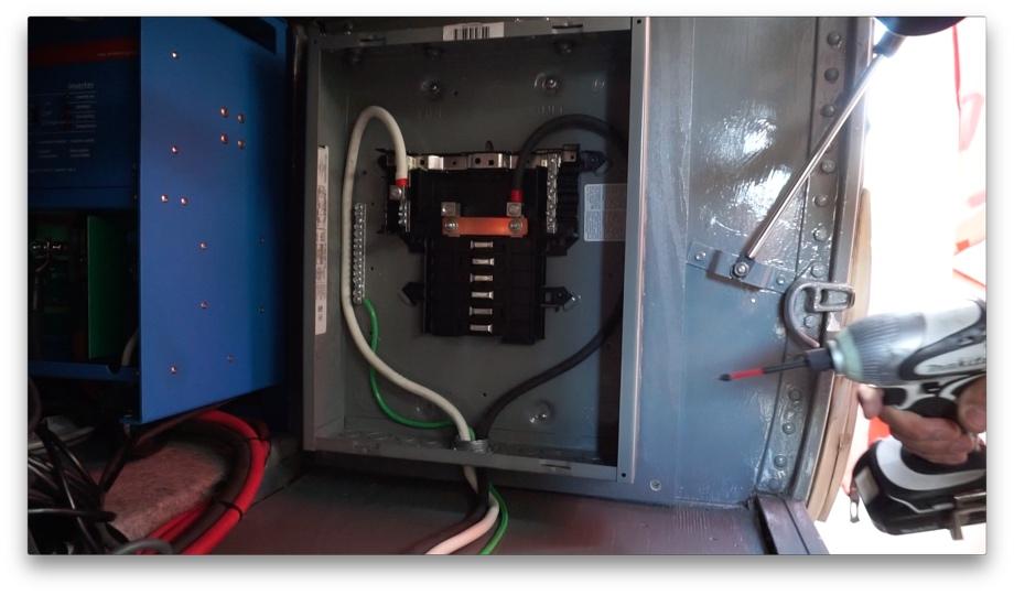 Superb Ac Power Part1 Installing A 120V Load Center Beginning From Wiring Digital Resources Remcakbiperorg