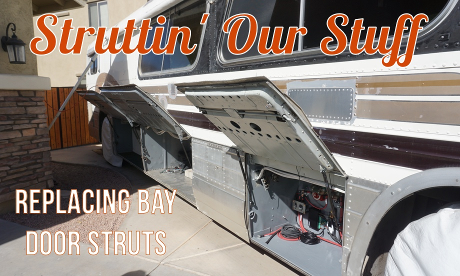 Struttin' Our Stuff: Replacing the Bay Door Struts