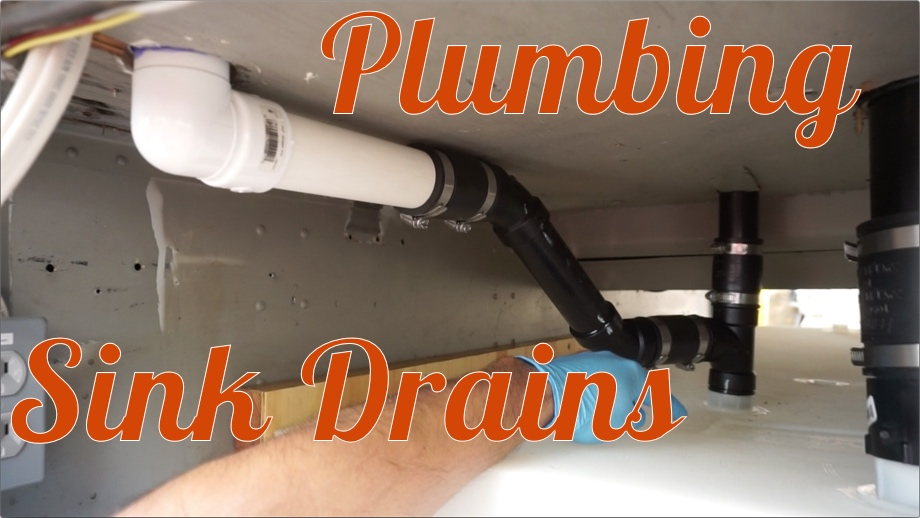 Plumbing the Sink Drains