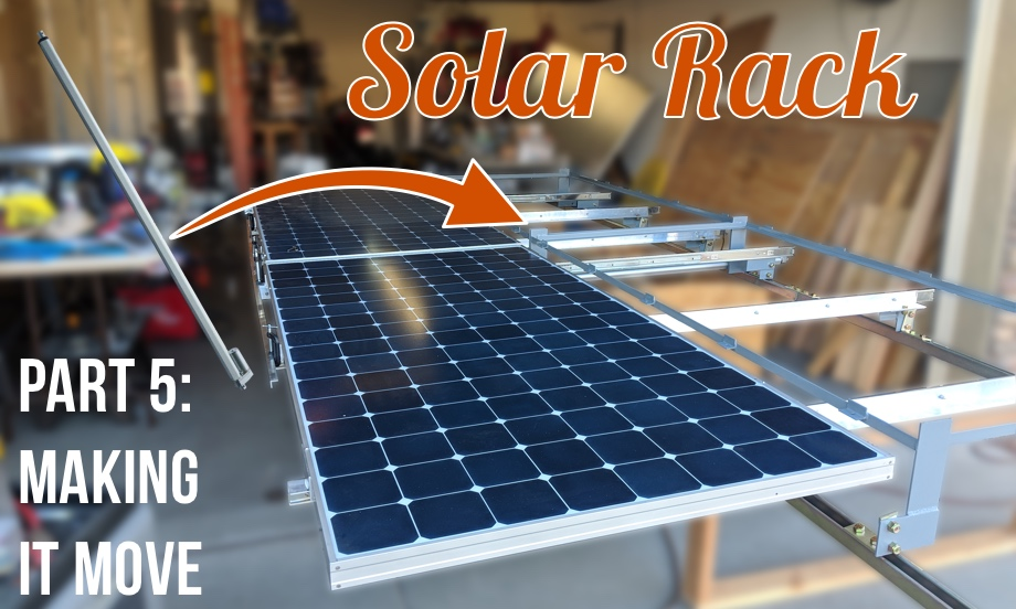 Solar Rack: Part 5 - Fitting a Linear Actuator