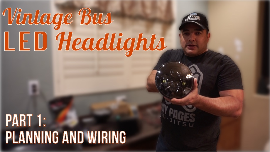 LED Headlights: Part 1 - Planning & Wiring