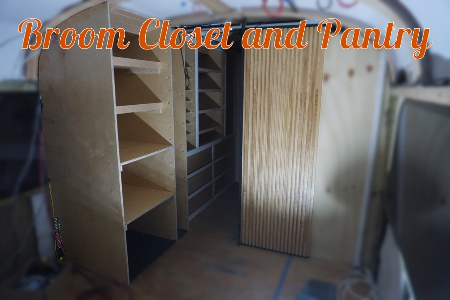 Building the Broom Closet & Pantry