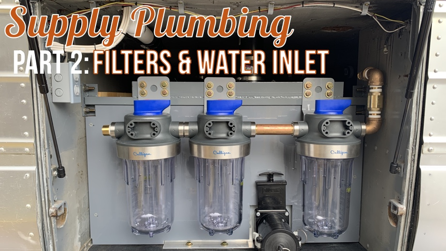 Water Supply Components - Part 2: Water Filters and City Water Inlet