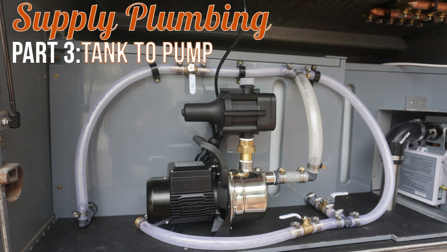 Water Supply Part 3: Getting Water To the Pump