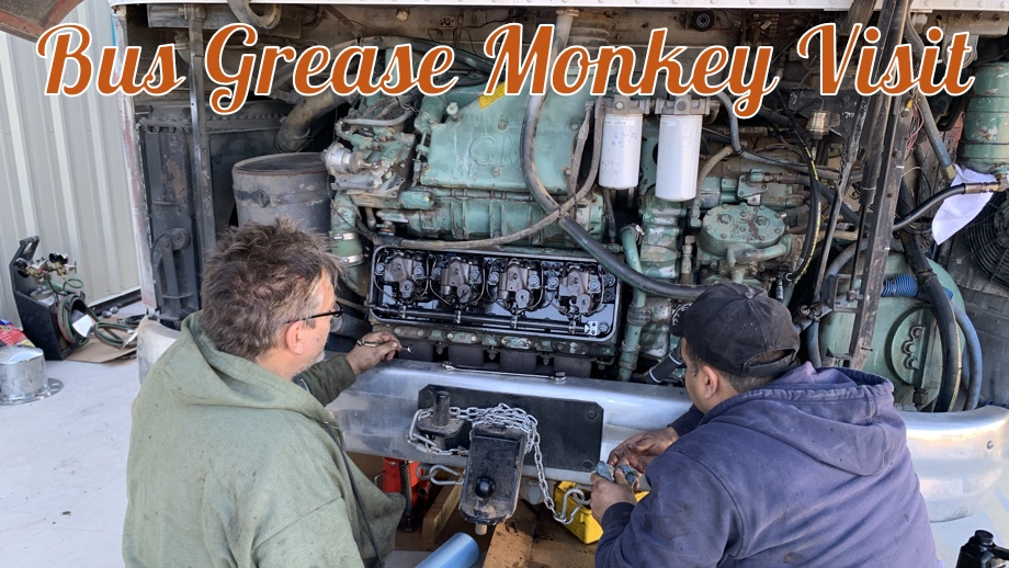Rolling & Stopping Better Than Ever with the Bus Grease Monkey