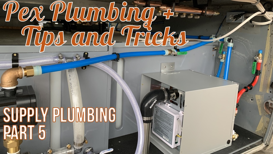 Supply Plumbing Part 5: More Pex A Plumbing - Tips & Tricks
